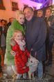 Heute Charitypunsch - Christkindlmarkt Stephansplatz - So 15.11.2015 - Richard LUGNER mit Ehefrau Cathy und Tochter Leonie21