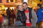 Heute Charitypunsch - Christkindlmarkt Stephansplatz - So 15.11.2015 - Ines und Fadi MERZA23