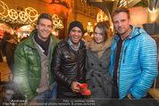 Heute Charitypunsch - Christkindlmarkt Stephansplatz - So 15.11.2015 - Norbert OBERHAUSER, Eric PAPILAYA, Roxanne RAPP, Volker PIESCZEK25
