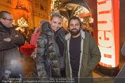 Heute Charitypunsch - Christkindlmarkt Stephansplatz - So 15.11.2015 - Cathy ZIMMERMANN, Morteza TAVAKOLI36