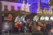 Heute Charitypunsch - Christkindlmarkt Stephansplatz - So 15.11.2015 - Punschstand5
