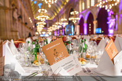 Look! Woman of the Year-Awards 2015 - Rathaus - Di 17.11.2015 - Festsaal, Tischdeko18