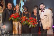 Look! Woman of the Year-Awards 2015 - Rathaus - Di 17.11.2015 - S BENEDETTER, Farah DIBA, Auma OBAMA, M FISCHER, C UNTERREINER365