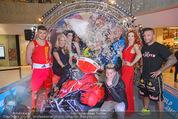Formula Snow PK - The Mall - Mi 18.11.2015 - Gruppenfoto mit Polsterschlacht, Federn60