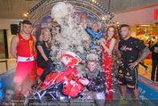Formula Snow PK - The Mall - Mi 18.11.2015 - Gruppenfoto mit Polsterschlacht, Federn64