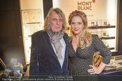 Weihnachtscocktail - Montblanc - Do 19.11.2015 - Niki OSL mit Ehemann Rudi NEMECZEK1
