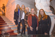 Olafur Eliasson Ausstellung - Winterpalais - Fr 20.11.2015 - Familie Francesca HABSBURG Mutter Fiona T�chter Eleonore, Glori101