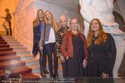 Olafur Eliasson Ausstellung - Winterpalais - Fr 20.11.2015 - Familie Francesca HABSBURG Mutter Fiona T�chter Eleonore, Glori102