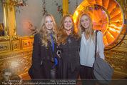Olafur Eliasson Ausstellung - Winterpalais - Fr 20.11.2015 - Familie Francesca HABSBURG mit Tochter Gloria und Eleonore115