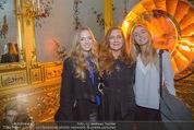 Olafur Eliasson Ausstellung - Winterpalais - Fr 20.11.2015 - Familie Francesca HABSBURG mit Tochter Gloria und Eleonore116
