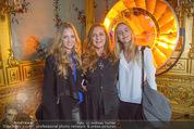 Olafur Eliasson Ausstellung - Winterpalais - Fr 20.11.2015 - Familie Francesca HABSBURG mit Tochter Gloria und Eleonore117