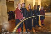 Olafur Eliasson Ausstellung - Winterpalais - Fr 20.11.2015 - Francesca HABSBURG, Agens HUSSLEIN, Olafur ELIASSON125