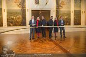 Olafur Eliasson Ausstellung - Winterpalais - Fr 20.11.2015 - Olafur ELIASSON, Josef OSTERMAYER, Agens HUSSLEIN49