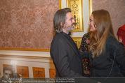 Olafur Eliasson Ausstellung - Winterpalais - Fr 20.11.2015 - Olafur ELIASSON, Francesca HABSBURG59