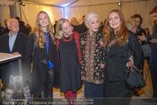 Olafur Eliasson Ausstellung - Winterpalais - Fr 20.11.2015 - Francesca HABSBURG T�chter Gloria und Eleonore, Agnes HUSSLEIN95