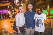 Charity Disco Bowling - Oceanpark - Di 24.11.2015 - Lukas PL�CHL mit Schwester Sonja35