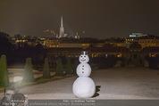 Weihnachtscocktail - Oberes Belvedere - Fr 27.11.2015 - Schneemann13