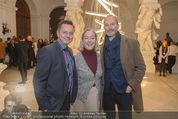 Weihnachtscocktail - Oberes Belvedere - Fr 27.11.2015 - Manfred ERJAUTZ, Agens HUSSLEIN, Erwin WURM50