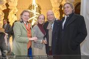 Weihnachtscocktail - Oberes Belvedere - Fr 27.11.2015 - Karin KNEISSL, Norbert BLECHA, Carl Michael BELCREDI, A HUSSLEIN79