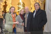 Weihnachtscocktail - Oberes Belvedere - Fr 27.11.2015 - Karin KNEISSL, Norbert BLECHA, Carl Michael BELCREDI, A HUSSLEIN80
