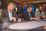 White pearl mountain Club - Sportzentrum Hinterglemm - Sa 05.12.2015 - Boris BECKER beim Pokern, am Pokertisch225