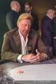 White pearl mountain Club - Sportzentrum Hinterglemm - Sa 05.12.2015 - Boris BECKER beim Pokern, am Pokertisch227