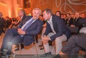 60. Geburstag Reinhold Mitterlehner - Aula der Wissenschaften - Fr 11.12.2015 - Wolfgang FELLNER, Markus BREITENECKER15