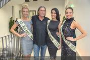 60. Geburstag Reinhold Mitterlehner - Aula der Wissenschaften - Fr 11.12.2015 - Norbert BLECHA mit 3 Miss Earth Siegerinnen31