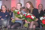 60. Geburstag Reinhold Mitterlehner - Aula der Wissenschaften - Fr 11.12.2015 - Stefanie und Elisabeth MITTERLEHNER60