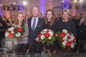 60. Geburstag Reinhold Mitterlehner - Aula der Wissenschaften - Fr 11.12.2015 - Familie Reinhold u. Anette MITTERLEHNER, Stefanie und Elisabeth66