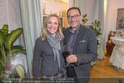 Lichter Weihnachtscocktail - Privatwohnung - Di 15.12.2015 - Heinz STIASTNY mit Begleitung Michaela2