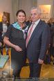 Lichter Weihnachtscocktail - Privatwohnung - Di 15.12.2015 - Rudolf HUNDSTORFER mit Ehefrau Karin25