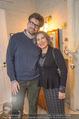 Lichter Weihnachtscocktail - Privatwohnung - Di 15.12.2015 - Brigitte KARNER mit Sohn Benedikt SIMONISCHEKRudolf HUNDSTORFER 33