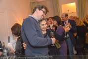 Lichter Weihnachtscocktail - Privatwohnung - Di 15.12.2015 - Brigitte KARNER mit Sohn Benedikt SIMONISCHEKRudolf HUNDSTORFER 37