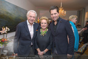 Lichter Weihnachtscocktail - Privatwohnung - Di 15.12.2015 - Harald und Ingeborg SERAFIN mit Sohn Daniel44
