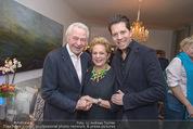 Lichter Weihnachtscocktail - Privatwohnung - Di 15.12.2015 - Harald und Ingeborg SERAFIN mit Sohn Daniel45