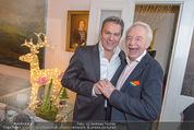 Lichter Weihnachtscocktail - Privatwohnung - Di 15.12.2015 - Alfons HAIDER, Harald SERAFIN53