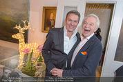 Lichter Weihnachtscocktail - Privatwohnung - Di 15.12.2015 - Alfons HAIDER, Harald SERAFIN54