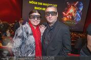 Star Wars - das Erwachen der Macht Kinopremiere - Cineplexx Donauplex - Mi 16.12.2015 - Andreas VITASEK mit Ehefrau Daria118