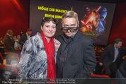 Star Wars - das Erwachen der Macht Kinopremiere - Cineplexx Donauplex - Mi 16.12.2015 - Andreas VITASEK mit Ehefrau Daria119