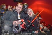 Star Wars - das Erwachen der Macht Kinopremiere - Cineplexx Donauplex - Mi 16.12.2015 - Volker PIESCZEK, Claudia REITERER123