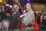 Star Wars - das Erwachen der Macht Kinopremiere - Cineplexx Donauplex - Mi 16.12.2015 - 19