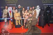 Star Wars - das Erwachen der Macht Kinopremiere - Cineplexx Donauplex - Mi 16.12.2015 - 2