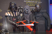 Star Wars - das Erwachen der Macht Kinopremiere - Cineplexx Donauplex - Mi 16.12.2015 - Figuren, Charaktere23