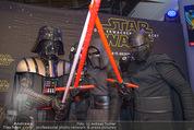 Star Wars - das Erwachen der Macht Kinopremiere - Cineplexx Donauplex - Mi 16.12.2015 - Figuren, Charaktere24