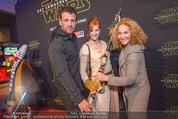 Star Wars - das Erwachen der Macht Kinopremiere - Cineplexx Donauplex - Mi 16.12.2015 - Volker PIESCZEK, Marie-Christine GIULIANI42