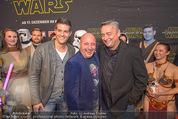 Star Wars - das Erwachen der Macht Kinopremiere - Cineplexx Donauplex - Mi 16.12.2015 - Andreas VITASEK, Norbert OBERHAUSER, Christoph F�LBL58