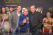 Star Wars - das Erwachen der Macht Kinopremiere - Cineplexx Donauplex - Mi 16.12.2015 - Andreas VITASEK, Norbert OBERHAUSER, Christoph F�LBL59