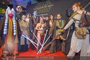 Star Wars - das Erwachen der Macht Kinopremiere - Cineplexx Donauplex - Mi 16.12.2015 - Figuren, Charaktere6