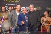 Star Wars - das Erwachen der Macht Kinopremiere - Cineplexx Donauplex - Mi 16.12.2015 - Andreas VITASEK, Norbert OBERHAUSER, Christoph F�LBL60
